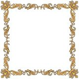 Vintage ornament frame Stock Images