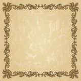 Vintage ornament frame Royalty Free Stock Image