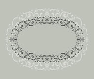 Vintage  ornament frame Royalty Free Stock Images