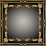 Vintage ornament frame Royalty Free Stock Photography