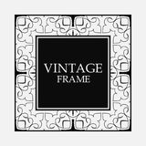 Vintage decorative frame royalty free illustration