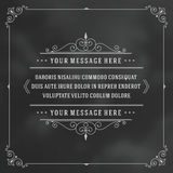 Vintage Ornament Quote Marks Box Frame Vector Royalty Free Stock Images