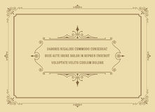 Vintage Ornament Quote Marks Box Frame Vector Royalty Free Stock Photo