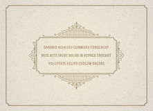 Vintage Ornament Quote Marks Box Frame Vector Royalty Free Stock Photos
