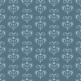 Vintage ornament. Vector continuous pattern in vintage style Royalty Free Stock Image