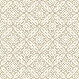 Vintage ornament, white seamless pattern Royalty Free Stock Images