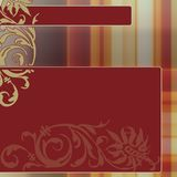 Vintage ornamental background Royalty Free Stock Image