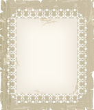 Vintage ornamental background for greeting card Stock Image
