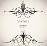 Vintage ornamental background. Vector Stock Image