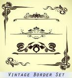 vintage ornamental border Royalty Free Stock Photography