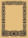 Vintage ornamental borders Royalty Free Stock Image