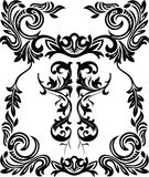 Vintage ornamental frame Stock Image