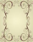 Vintage ornamental frame Stock Photography