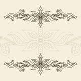 Vintage ornamental frame Stock Images