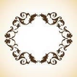 Vintage ornamental frame Stock Photo