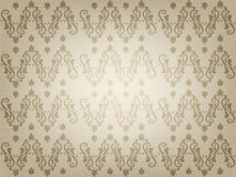 Vintage ornamental old paper background Royalty Free Stock Photos