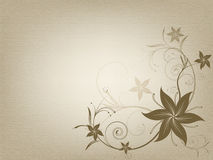 Vintage ornamental old paper background Royalty Free Stock Images