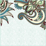 Vintage ornamental template Stock Photography