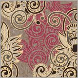Vintage ornamental template Royalty Free Stock Photography