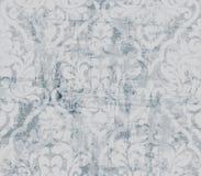 Vintage ornamented pattern Vector. Old style Victorian flourish texture. Grunge decorative design. Light colors stock illustration