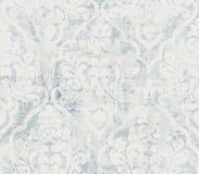 Vintage ornamented pattern Vector. Old style Victorian flourish texture. Grunge decorative design. Light colors vector illustration