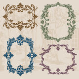 Vintage ornaments stock photography