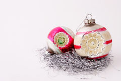 Vintage Ornaments. Two vintage ornaments Royalty Free Stock Photo