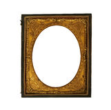 Vintage ornat metallic picture frame Royalty Free Stock Photo