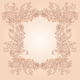 Vintage ornate frame Royalty Free Stock Images