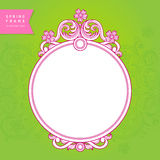 Vintage ornate frame with place for your text. Stock Photography