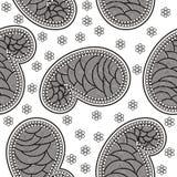 Vintage ornate seamless pattern Stock Photo