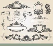 Vintage ornate shield Royalty Free Stock Photography