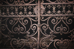 Vintage ornate venetian gate Royalty Free Stock Photography