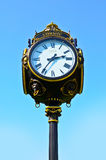 Vintage outdoor Clock Royalty Free Stock Images