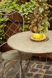 Vintage outdoors home decor. Royalty Free Stock Photos