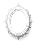Vintage oval frame. Stock Photo