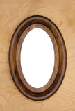 Vintage oval photo-frame Stock Image