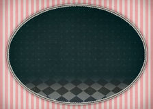 Vintage oval Royalty Free Stock Image
