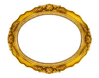 Vintage oval Victorian era frame Royalty Free Stock Photography
