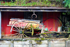 Vintage ox wagon Royalty Free Stock Photos