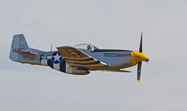 Vintage P-51 Mustang Fighter Stock Photos