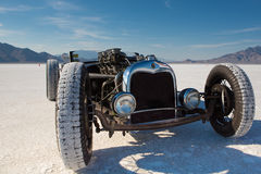 Vintage Packard racing car during the World of Speed 2012. Royalty Free Stock Photos