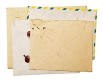 Vintage packet for correspondence Stock Images