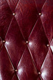 Vintage padding. Texture of  cushion royalty free stock image