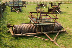 Vintage Paddock Roller Royalty Free Stock Photography