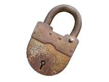 Vintage padlock Royalty Free Stock Photography