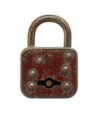 Vintage padlock Stock Photo