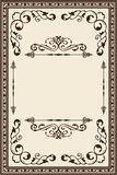 Vintage page Stock Images