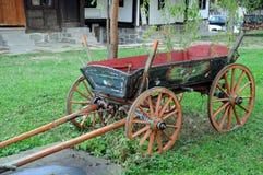 Vintage Painted Four-wheeler Stock Photos