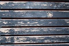 Vintage painted hardwood siding. background. Royalty Free Stock Photography